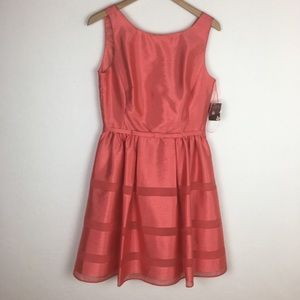 NWT Taylor Coral Dress size 8
